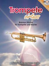 Trompete virtuos mit CD (Bravour-Stücke für Trompete und Klavier) (Notenheft)