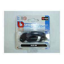 Bburago 59000 Audi R8 Negro Escala 1:64 Coche a escala NUEVO !°