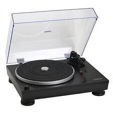 Audio-Technica AT-LP5 HiFi Plattenspieler + Haube + AT95Ex System (Schwarz) NEU!