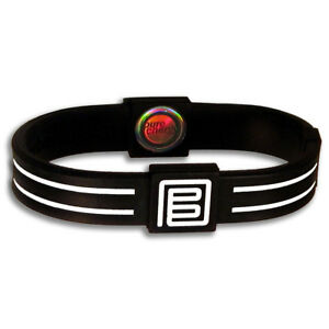 NEW PURE ENERGY BALANCE BAND - HOLOGRAM FREQUENCY POWER - SILICONE DUO BRACELET