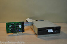 "Closed Case 5.25"" FLOPPY Drive with Controller Card For Apple ][, //e, IIgs !"