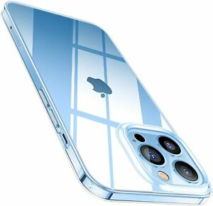 Hülle für iPhone 13 Pro Max Mini Silikon Schutz Handyhülle Case Tasche Klar Slim