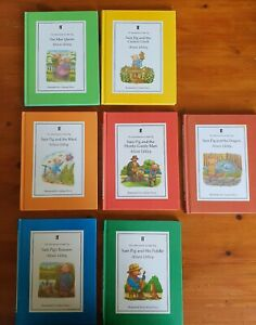 Vintage Books  The Adventures of Sam Pig Alison Uttley x 7 VGC