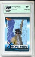 Michael Phelps 2003 Rookie Review card PGI 10 Team USA Olympics