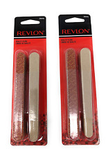 Revlon Compact Emery Boards Nail File, Dual Sided for Shaping and Smoothing Fing