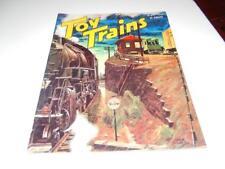 VINTAGE - TOY TRAINS MAGAZINE - MAY 1952  - GOOD - W5