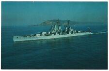 USS Helena postcard US Navy Heavy Cruiser Baltimore Class unposted