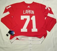 DYLAN LARKIN size 54 = XL - DETROIT RED WINGS ADIDAS Climalite Authentic Jersey
