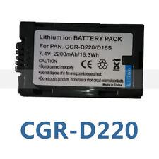 Battery for Panasonic CGA-D07 CGA-D07S CGA-D54 CGA-D54S CGA-D54SE CGA-D54SE/1B
