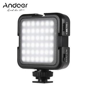 Andoer 42LED Ultra Bright LED Video Lights 42PCS Light Beads with Cold Shoe G8V7