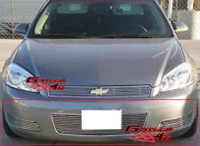 Fits 2006-2013 Chevy Impala LT/LS W/O Fog light Bumper Billet Grille Insert