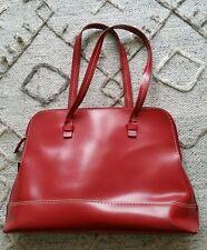 M&S Ladies Tote Shoulder Bag Office bag Red Large