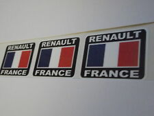 RENAULT FRANCE  Stickers 55mm Car  X3