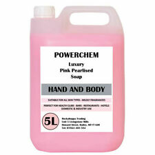 5L HAND WASH BODY WASH THICK LUXURY PINK SOAP REFILL BULK FILL FOR DISPENSER