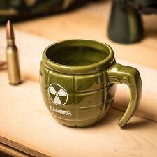 Granaten-Becher DANGER Becher  Trinkbecher Kaffebescher Design Geschenk