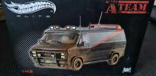 HOTWHEELS ELITE 1:43 Diecast Car - The A TEAM - BA's Vandura Dirty Muddy Version