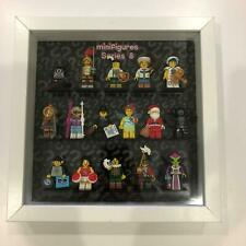 Lego Collectable Minifigures | Series 8 | Complete | Display Case