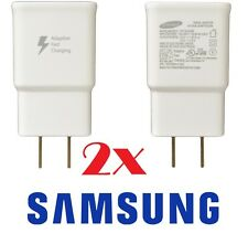 2 Authentic Original OEM Samsung Galaxy Note Adaptive Fast Rapid Wall Chargers