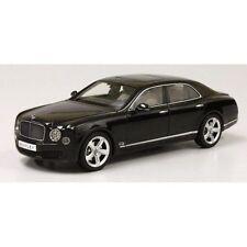 KYOSHO 2014 Bentley Mulsanne Speed-Onyx Black/Cream Interior 1:18*New IN STOCK*
