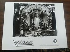 Zz Top promo 8x10 photo Warner Bros Records 1992