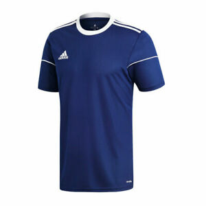 Adidas Football Soccer Kids Childrens Squadra 17 Jersey Shirt Top Blue White USA