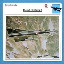 SCHEDA TECNICA AEREI - DASSAULT MIRAGE IV A - (FRANCIA)