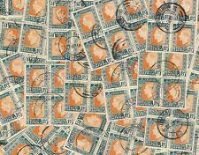 SOUTH AFRICA 1937 CORONATION + PMKS...100 BLOCKS of 4..cv£160