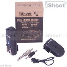 30m--Speedlight Radio Wireless Flash Trigger PT-04 for Canon Nikon Metz Pentax