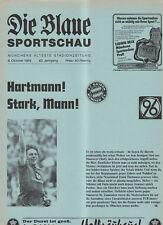 BL 85/86 FC Bayern München - Hannover 96 (Blaue)
