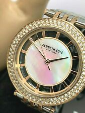 Kenneth Cole Women's Watch KC51130004 34mm Two Tone Stainless Steel MOP Dial