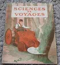 Ancienne revue SCIENCES ET VOYAGES N°22  29 janvier 1920 2ème année ! RARE !