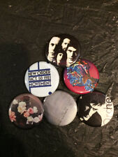 """1.25"""" New Order pin back button set of 6"""