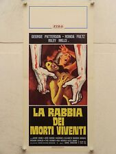 LA RABBIA DEI MORTI VIVENTI horror regia David Durston locandina orig. 1978