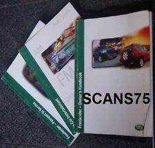 2001 Land Rover Freelander Owners Manual