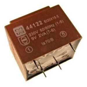 MYRRA - 44122 - TRANSFORMER, 9V, 2VA