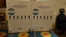 The James Bond Collection 23 Film Dvd Boxset BRAND NEW SEALED SAME DAY POSTAGE