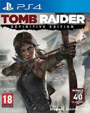 Tomb raider-édition définitive (PS4) Neuf Et Scellé-EN STOCK-IMPORT