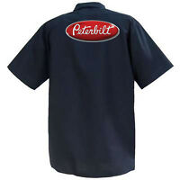 Peterbilt  - Mechanics Graphic Work Shirt  Short Sleeve
