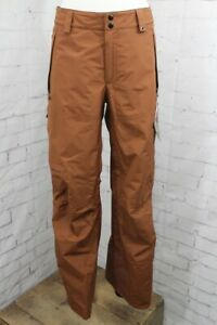 686 GLCR GoreTex Core Snowboard Shell Pants, Men's Large, Clay Brown New 2022