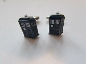 Doctor Who Dr Who Tardis Cufflinks genuine BBC merchandise