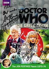 More details for doctor who - the green death dvd - signed by 8 cast/crew (jon pertwee)