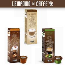 100 Capsule Caffitaly System Smart Bevande Cappuccino, Mocaccino e Nocciola