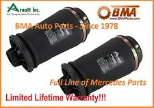 NEW Mercedes W164 Set of 2 Rear Suspension Air Bags  #  A2596 / 166 320 03 25