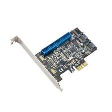 Syba PCIe 1x PATA and 2x SATA3 Raid Controller Card Marvel 88SE9128 6Gbp