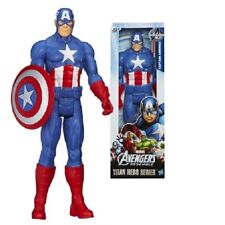 CAPTAIN AMERICA 12 inch Action Figure Hero Titan Series Hasbro Marvel Licensed
