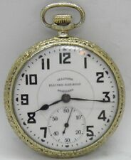 Pocket Watch Gd. 305 17J 16S 1926 Illinois Electric Railroad Standard Time King