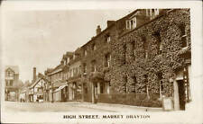 Market Drayton. High Street.