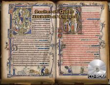 Psalter of Queen Isabella of England - Psalterium - Created 1300 - 1400 AD Latin