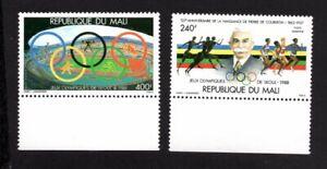 Mali 1988 pair of stamps Mi#1106-07 MNH CV=7€