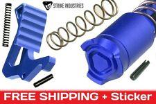 Strike Industries BLUE LINE Enhanced Top kit Lever + Bolt Button parts build upr